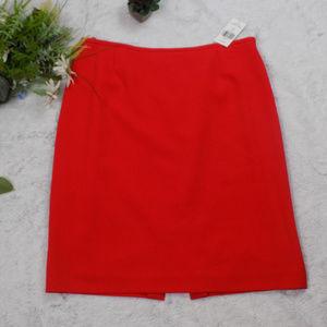Tahari NWT red pencil skirt